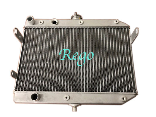 Cina Motocycle ATV Dirt Bike Aluminium Radiator untuk 2007-2014 4x4 SUZUKI RAJA QUAD LT-A450, LT-A500, LT-A750 MODEL pabrik